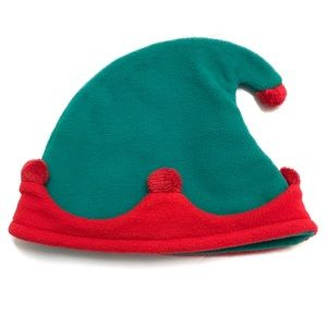 Gymboree Baby Christmas Holiday Hat Green Red Elf